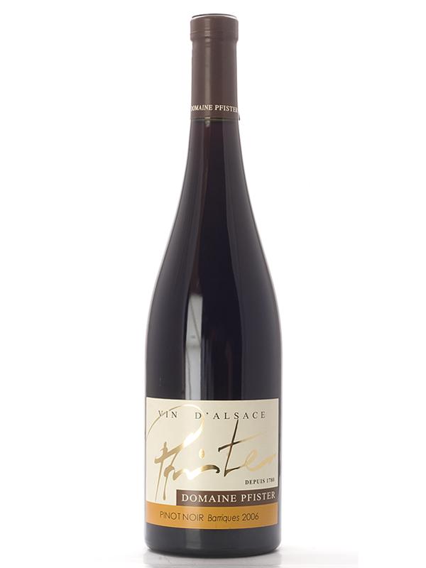 Pinot Noir Barrique D'Alsace 2011 Domaine Pfister