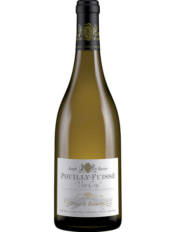 Pouilly Fuissé Vers Cras 2016 Château De Beauregard