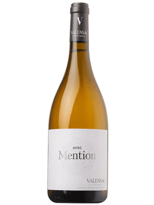 Avec Mention Chardonnay Domaine De Valensac