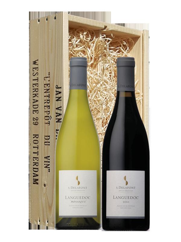 Wijngeschenk Delafont Languedoc