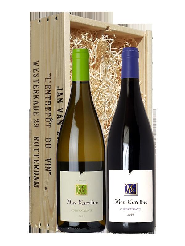 Wijngeschenk Mas Karolina Roussillon