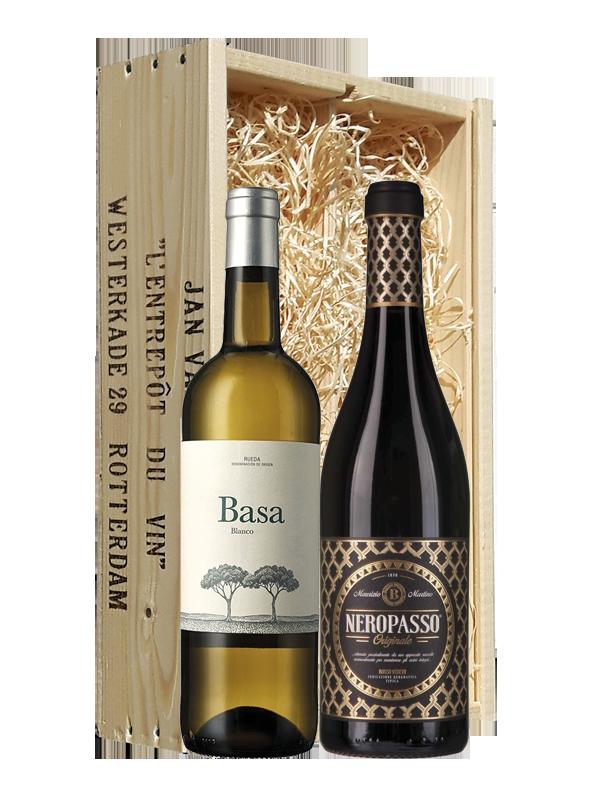 Wijngeschenk Spaans En Italiaans