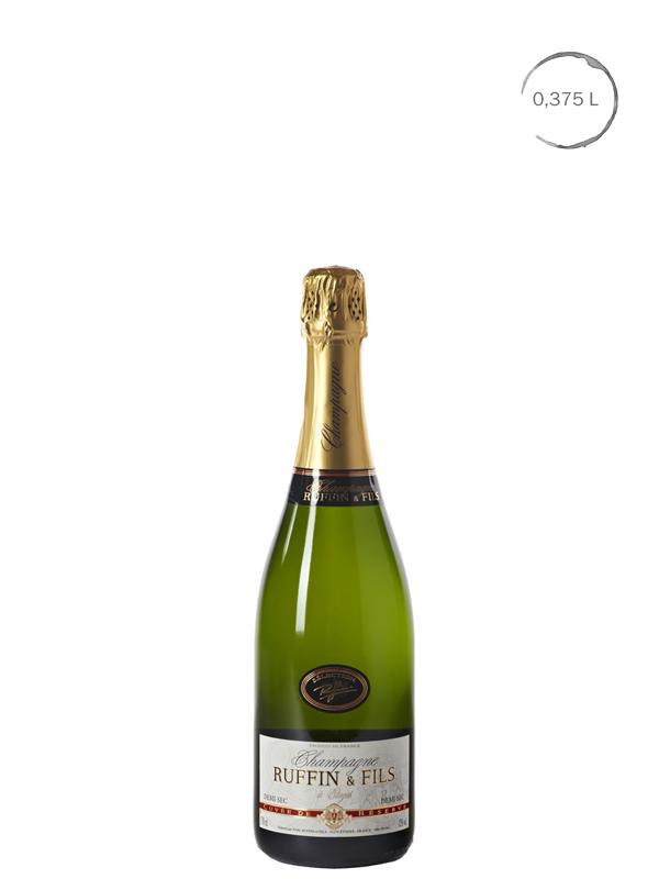 Halfje Ruffin & Fils Brut De Réserve Champagne 0.375 L