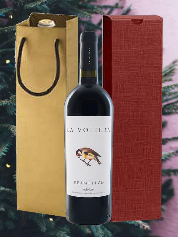 Wijngeschenk Primitivo La Voliera Tenute Girolamo
