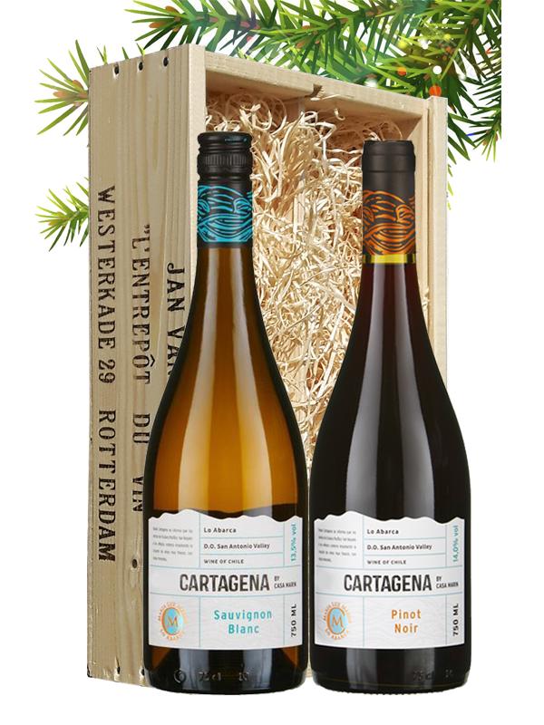 Wijngeschenk Chili Cartagena Casa Marin