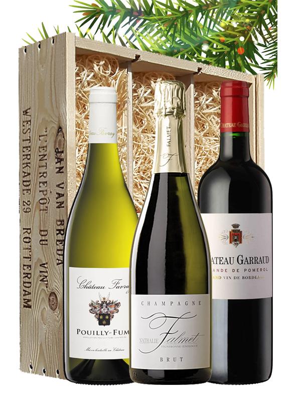 Wijngeschenk Frankrijk Diner