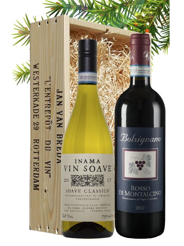 Wijngeschenk Italië Toscane & Veneto