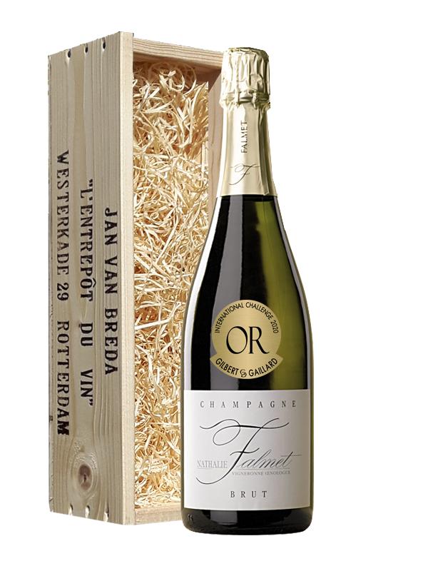 Geschenk Nathalie Falmet Champagne Brut