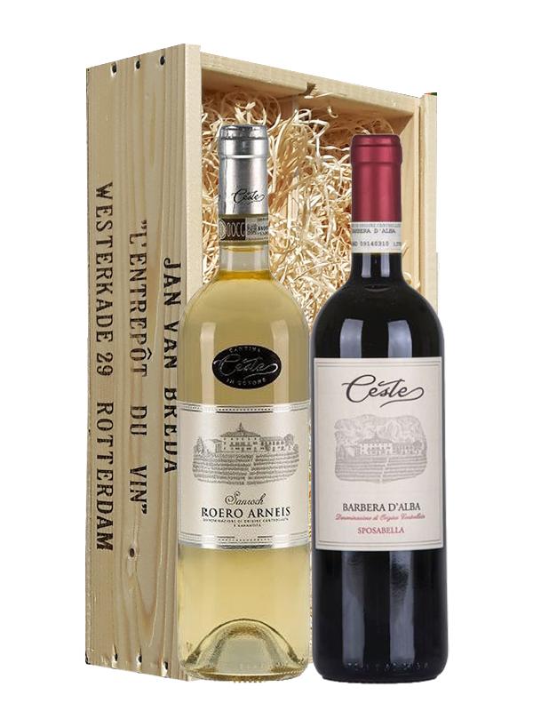 Wijngeschenk Italië Piemonte