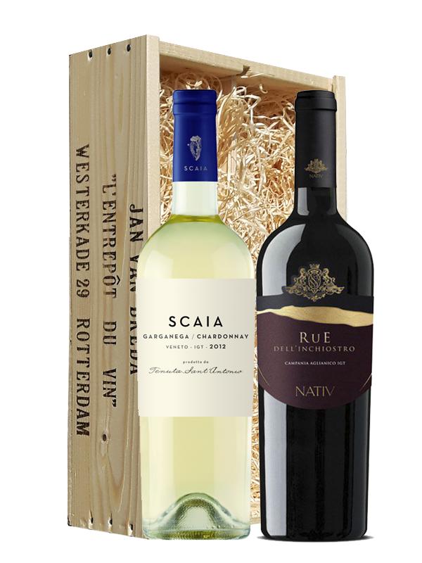 Wijngeschenk Italië Veneto & Campania
