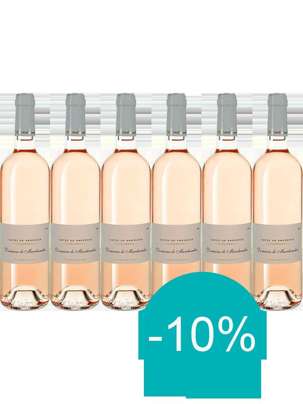 Doos 6 Fl Côtes De Provence Rosé 2020 Domaine De Marchandise